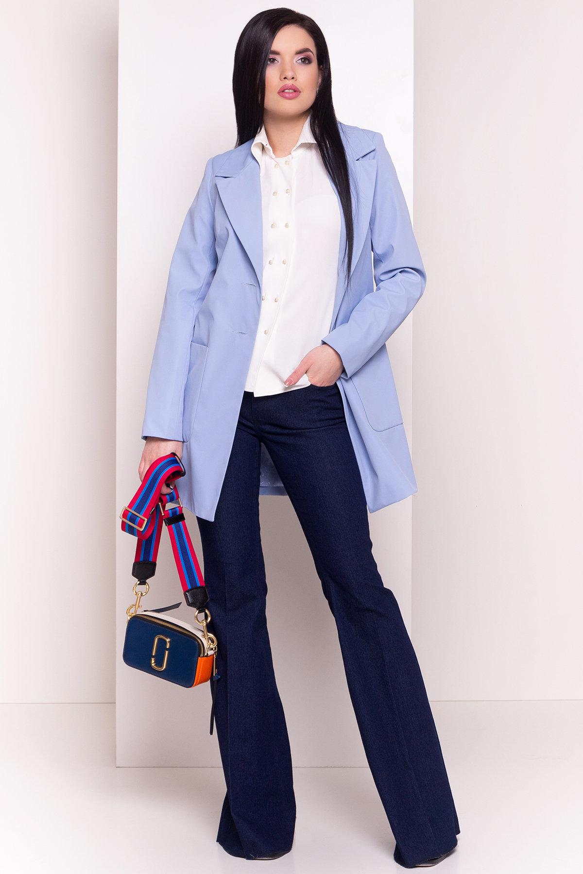 купить женские куртки оптом Плащ с накладными карманами Миссони 2087