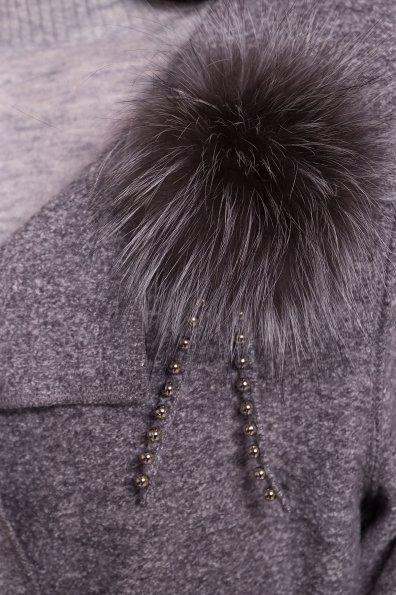 Стильный кардиган прямого кроя Априори 4697 Цвет: Серый Светлый LW-10