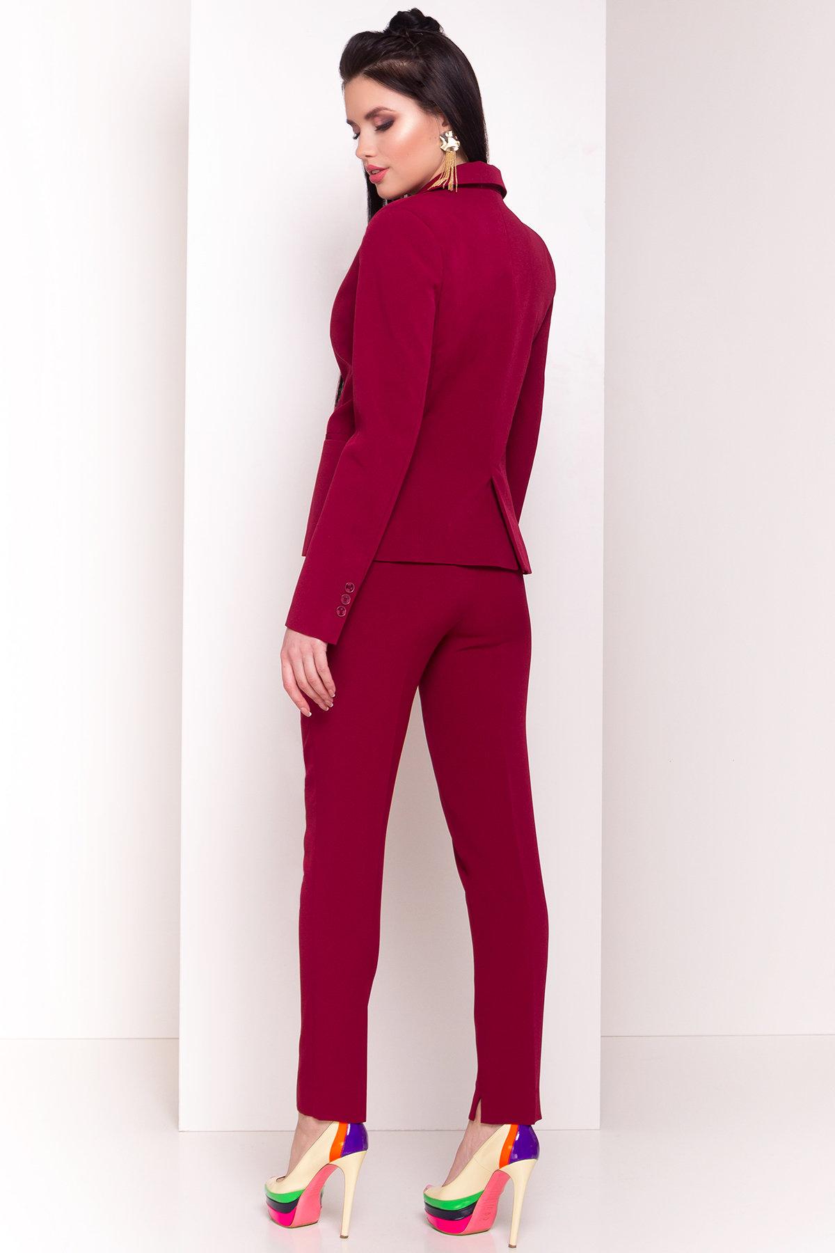 Жакет Эдвин 2734 АРТ. 33820 Цвет: Марсала - фото 3, интернет магазин tm-modus.ru