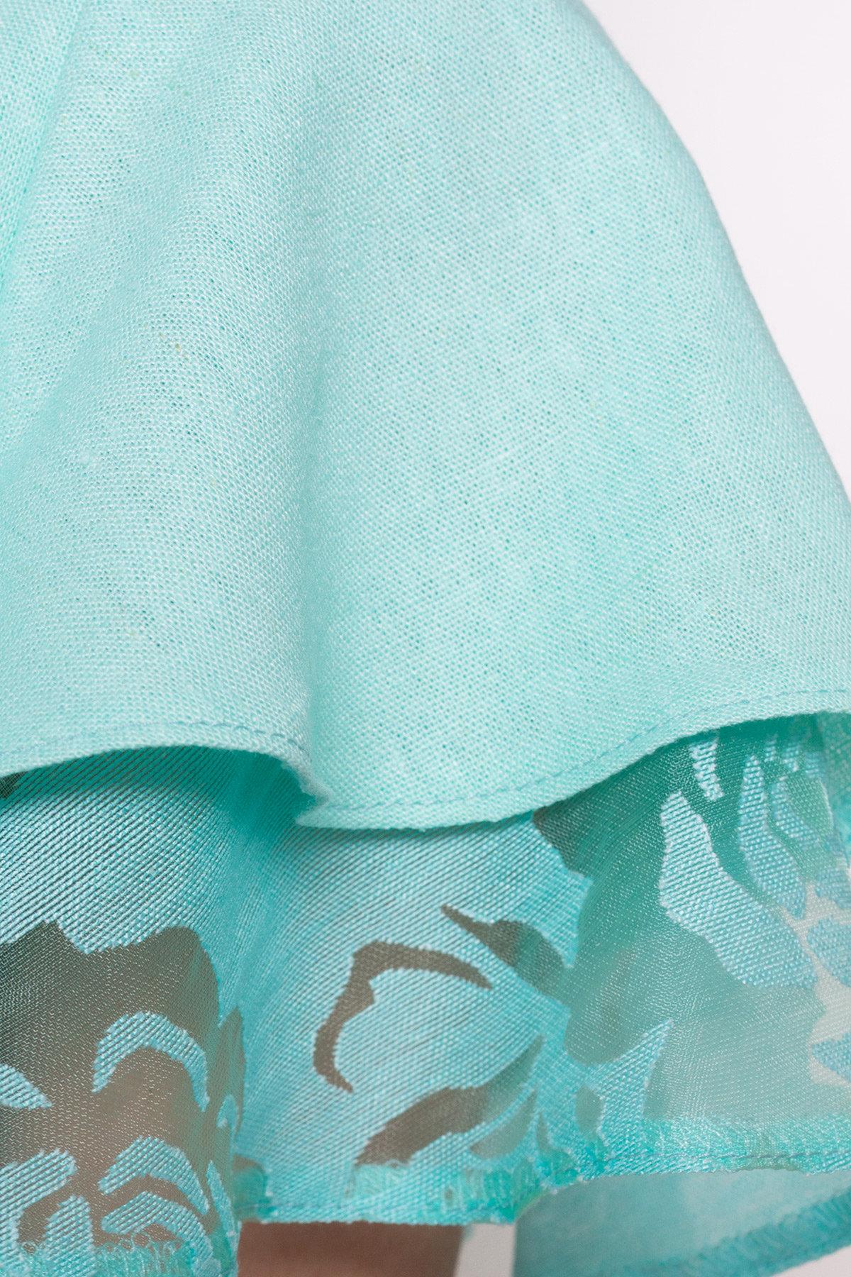 Платье Романтик 4831 АРТ. 34357 Цвет: Мята - фото 3, интернет магазин tm-modus.ru