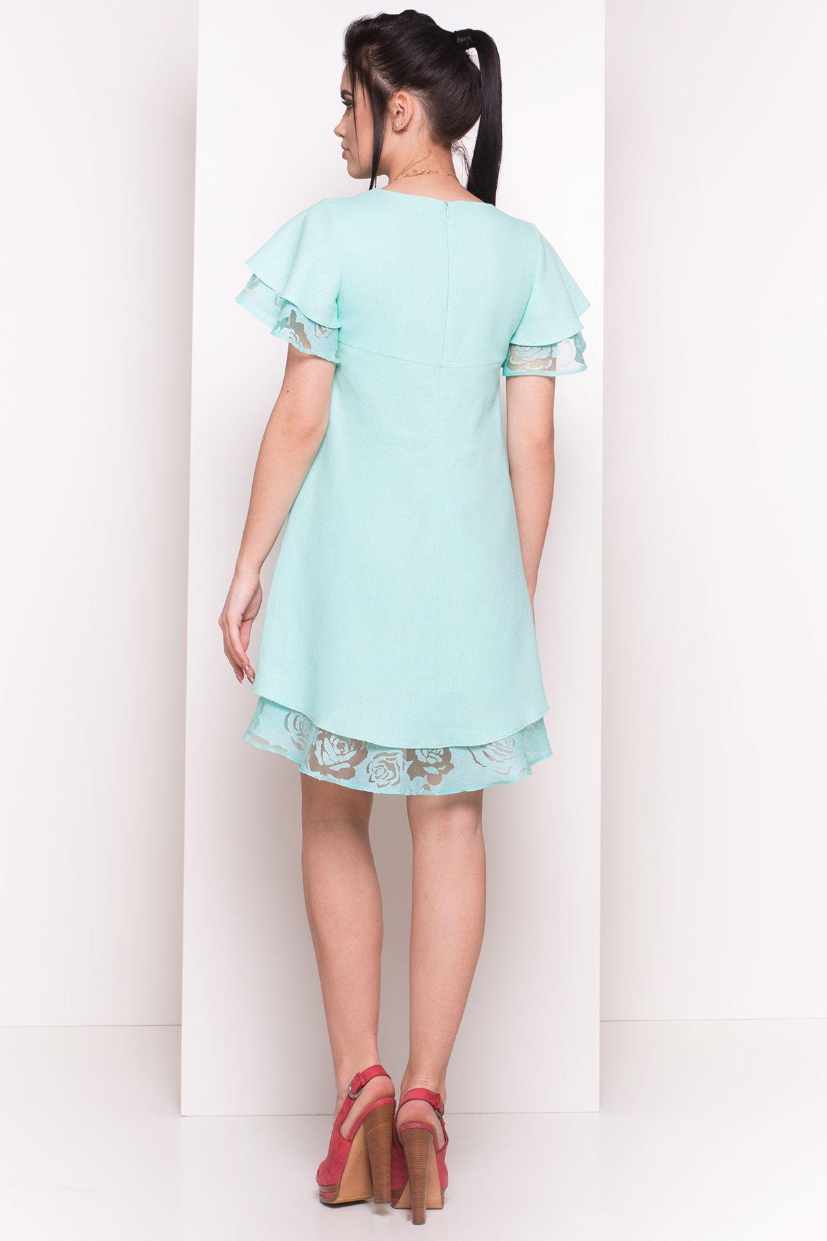 Платье Романтик 4831 АРТ. 34357 Цвет: Мята - фото 2, интернет магазин tm-modus.ru