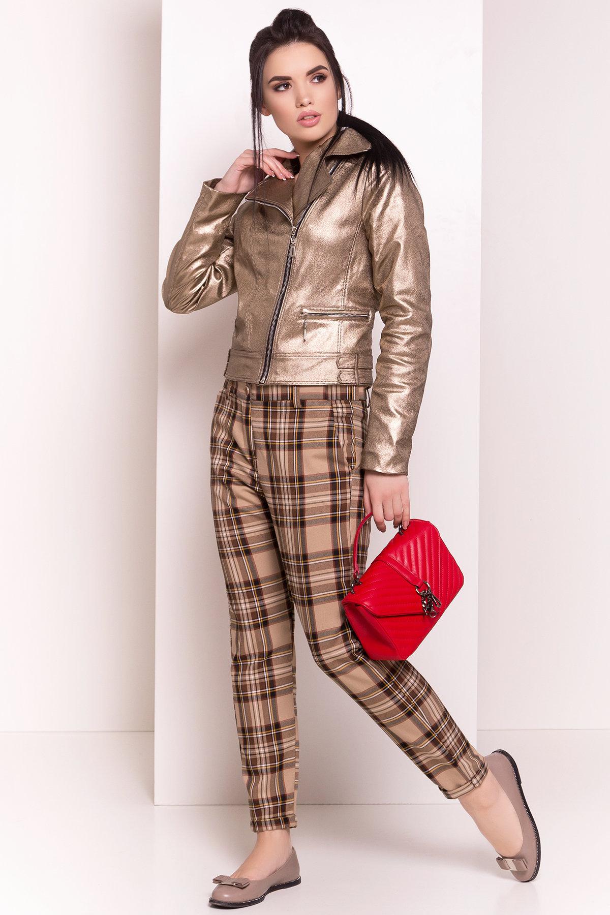 Жакет Байкер 4669 АРТ. 34559 Цвет: Золото - фото 2, интернет магазин tm-modus.ru