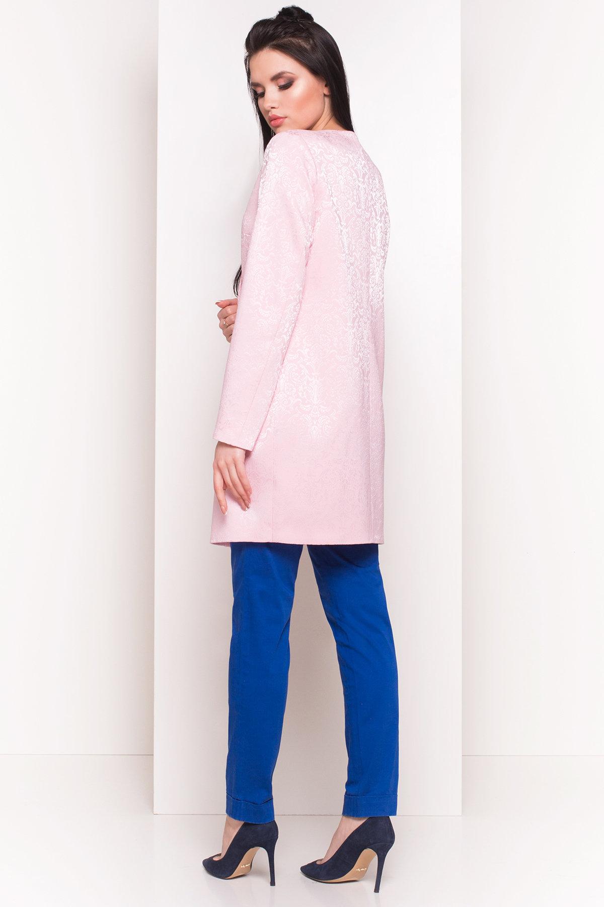 Свободный плащ со скрытой застежкой Фабио 4700 АРТ. 33838 Цвет: Розовый - фото 3, интернет магазин tm-modus.ru
