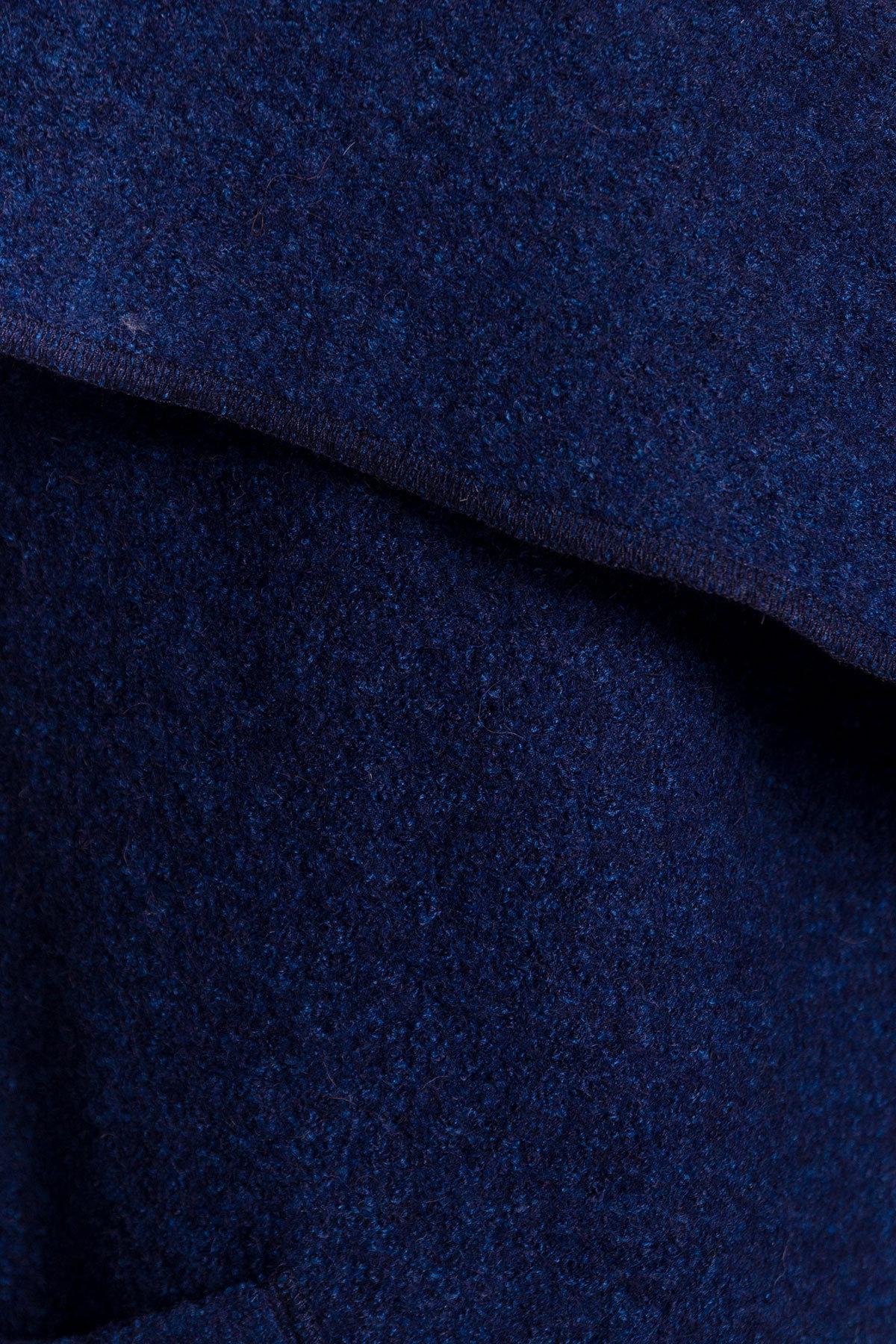 Кардиган прямого кроя с отложным воротником Муви 4856 АРТ. 34589 Цвет: Темно-синий/электрик-LW27 - фото 5, интернет магазин tm-modus.ru