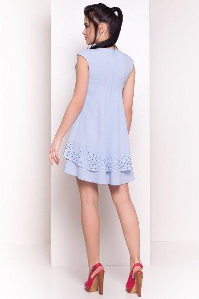 Платье Алькор 4860 Цвет: Голубой