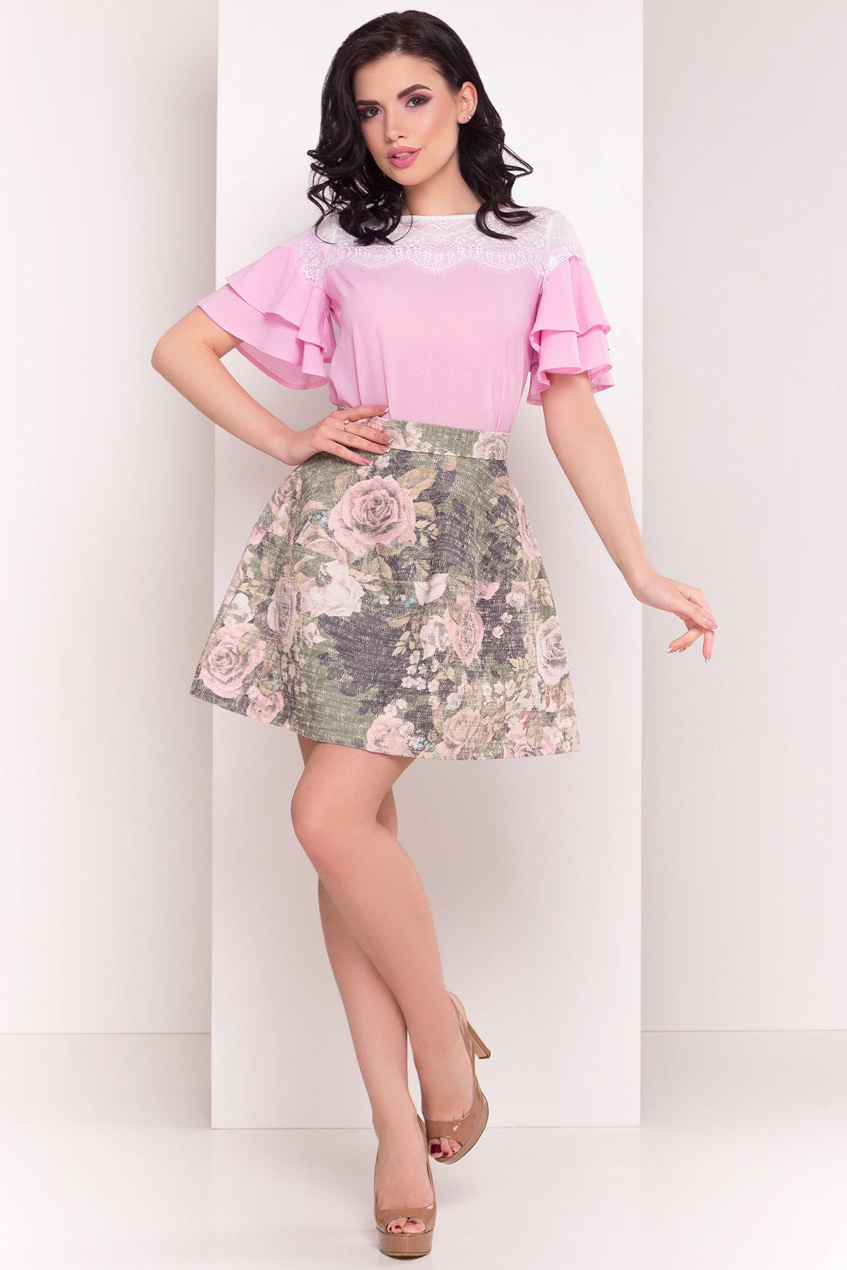 Блуза Ирис 4835 Цвет: Розовый