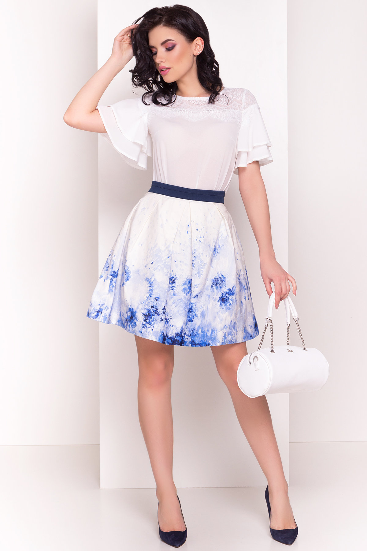 Блуза Ирис 4835 Цвет: Молоко