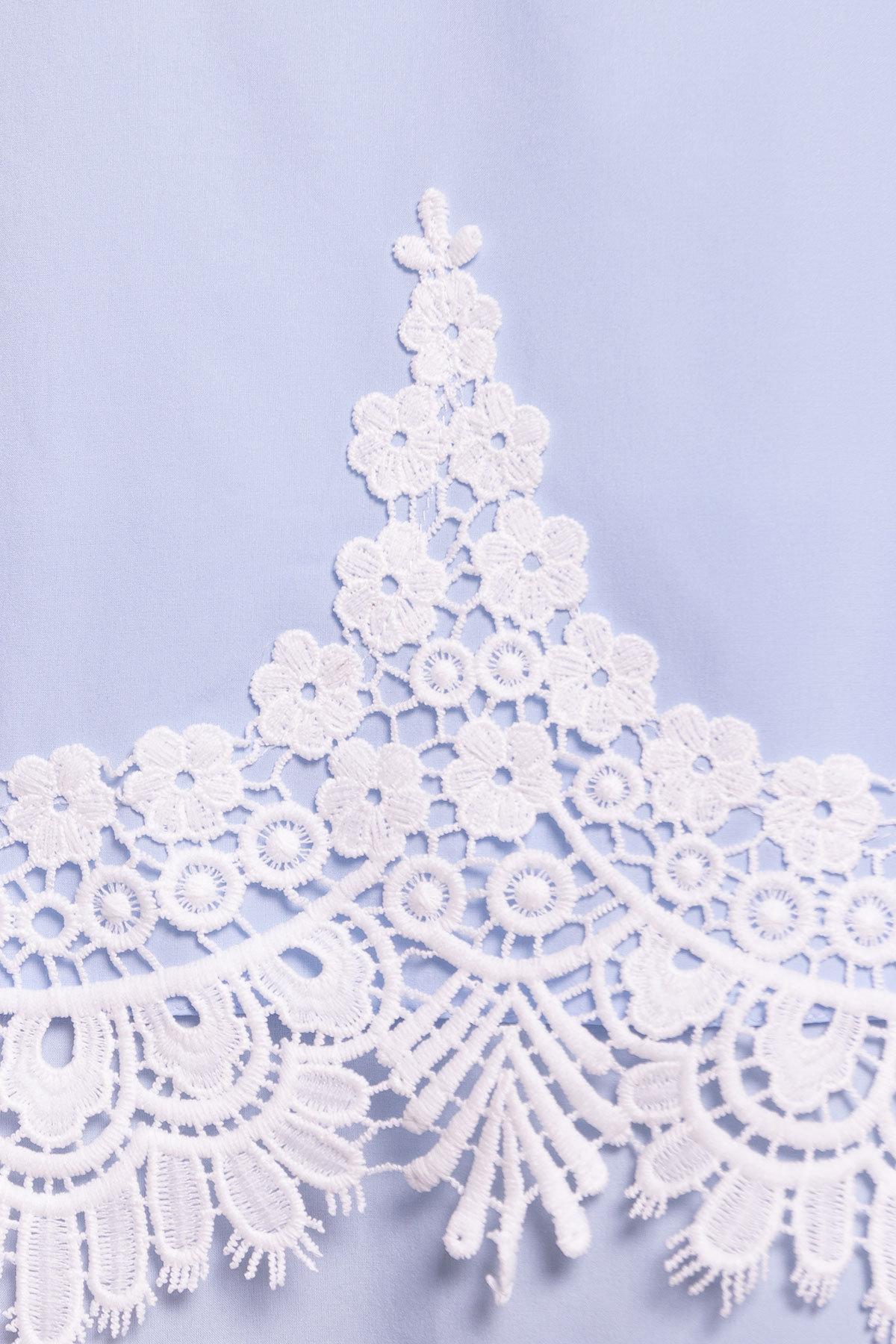 Платье Арвель 4894 АРТ. 34785 Цвет: Голубой - фото 4, интернет магазин tm-modus.ru