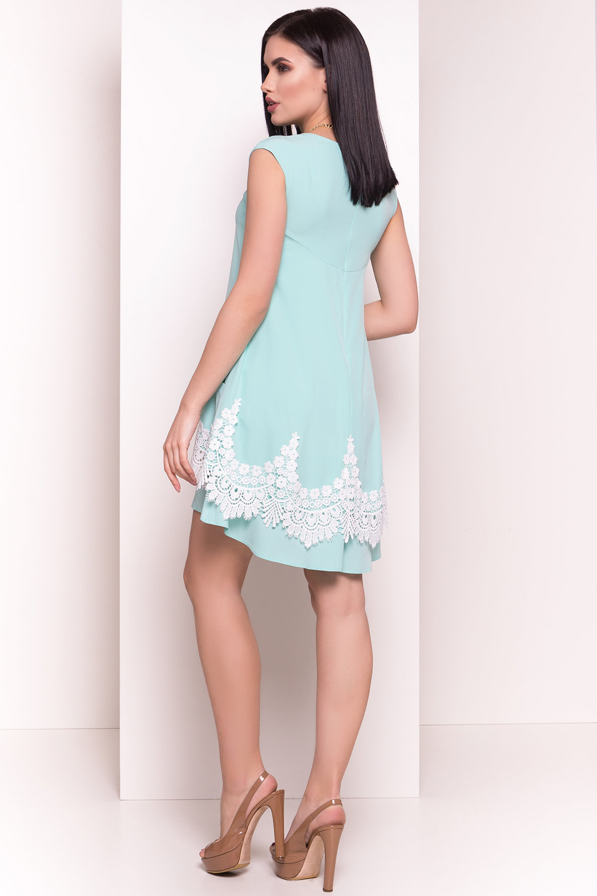 Платье Арвель 4894 АРТ. 34972 Цвет: Мята - фото 3, интернет магазин tm-modus.ru