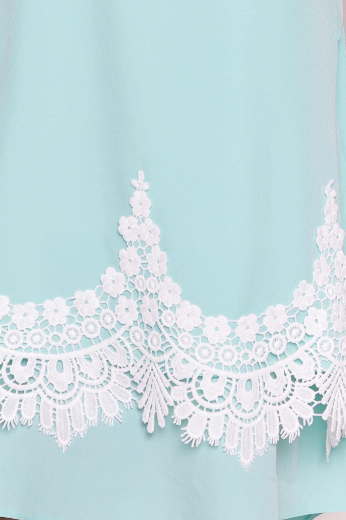 Платье Арвель 4894 АРТ. 34972 Цвет: Мята - фото 4, интернет магазин tm-modus.ru