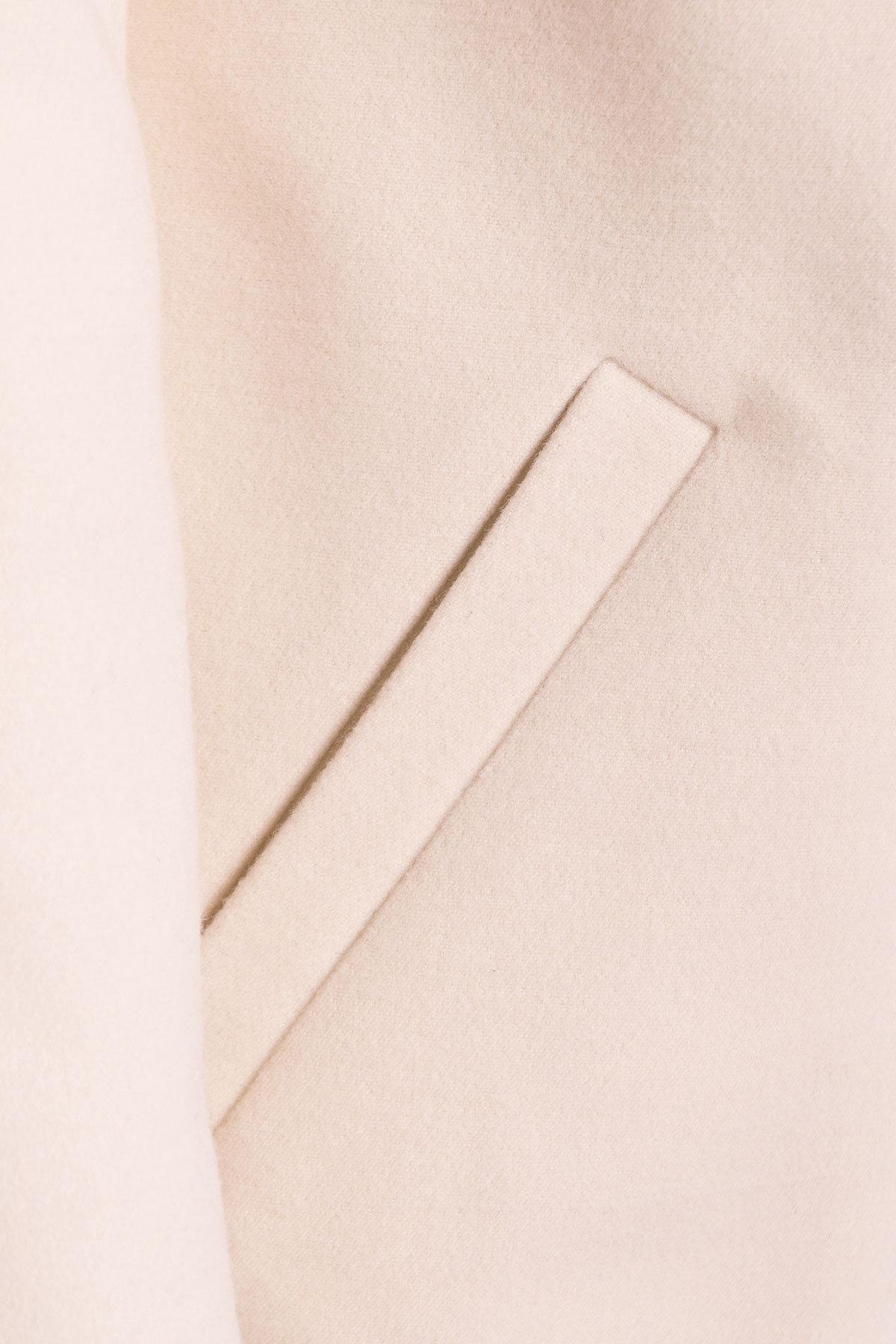 Пальто Фортуна 4812 АРТ. 6761 Цвет: Светло-бежевый - фото 4, интернет магазин tm-modus.ru
