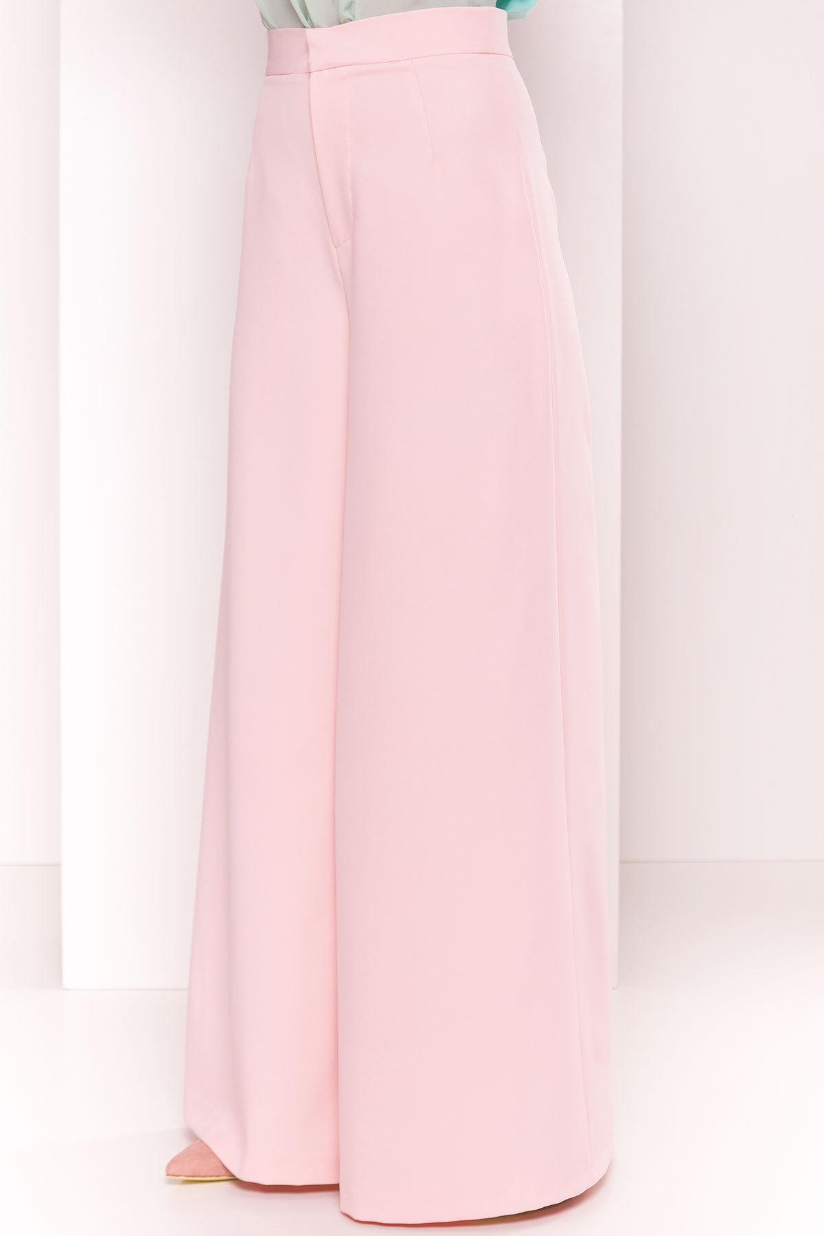 Широкие Брюки Мадлен 2788 АРТ. 34800 Цвет: Розовый - фото 4, интернет магазин tm-modus.ru