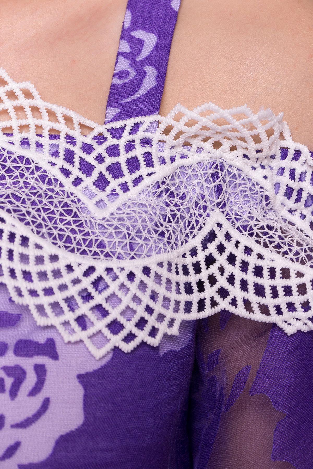 Платье Линда 4946 АРТ. 35094 Цвет: Фиолетовый - фото 4, интернет магазин tm-modus.ru