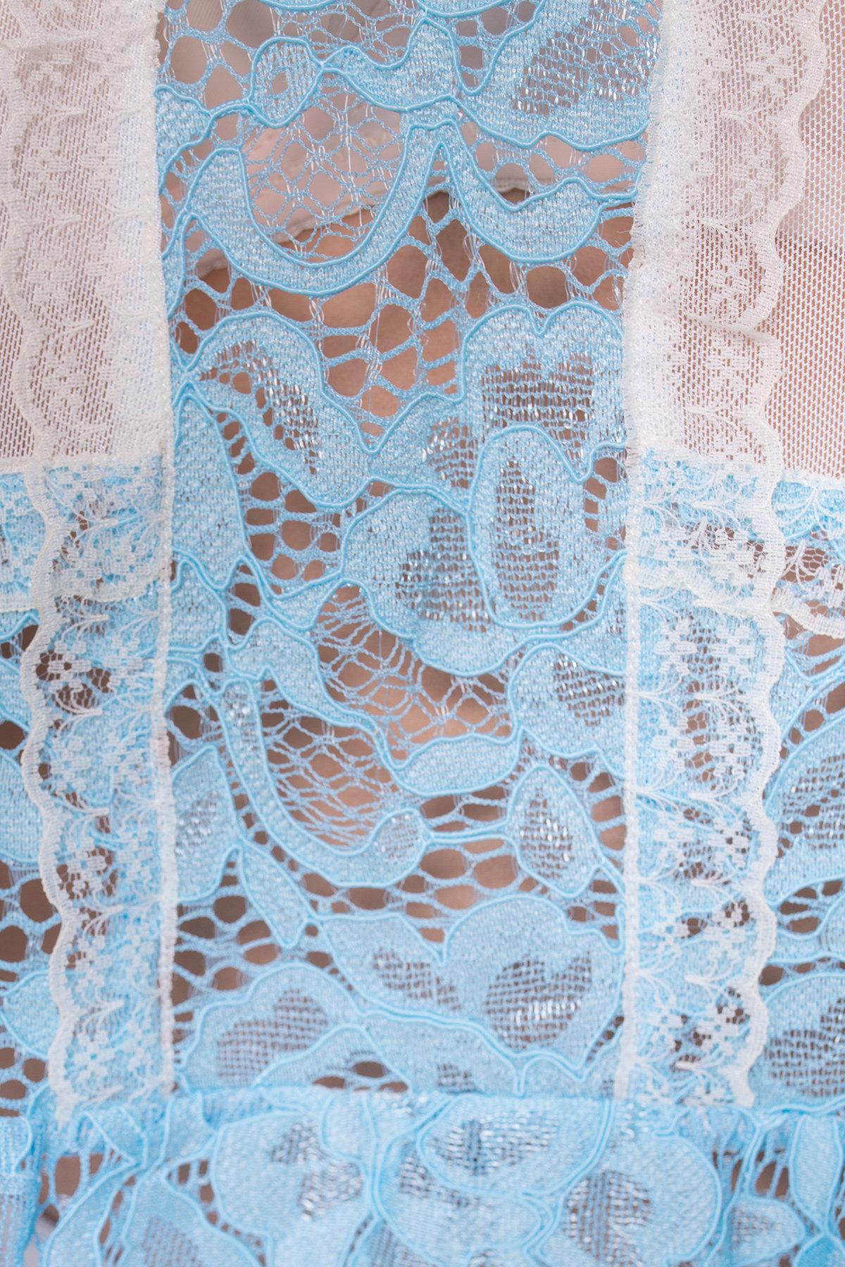 Блуза  Россо 2894 Цвет: Голубой