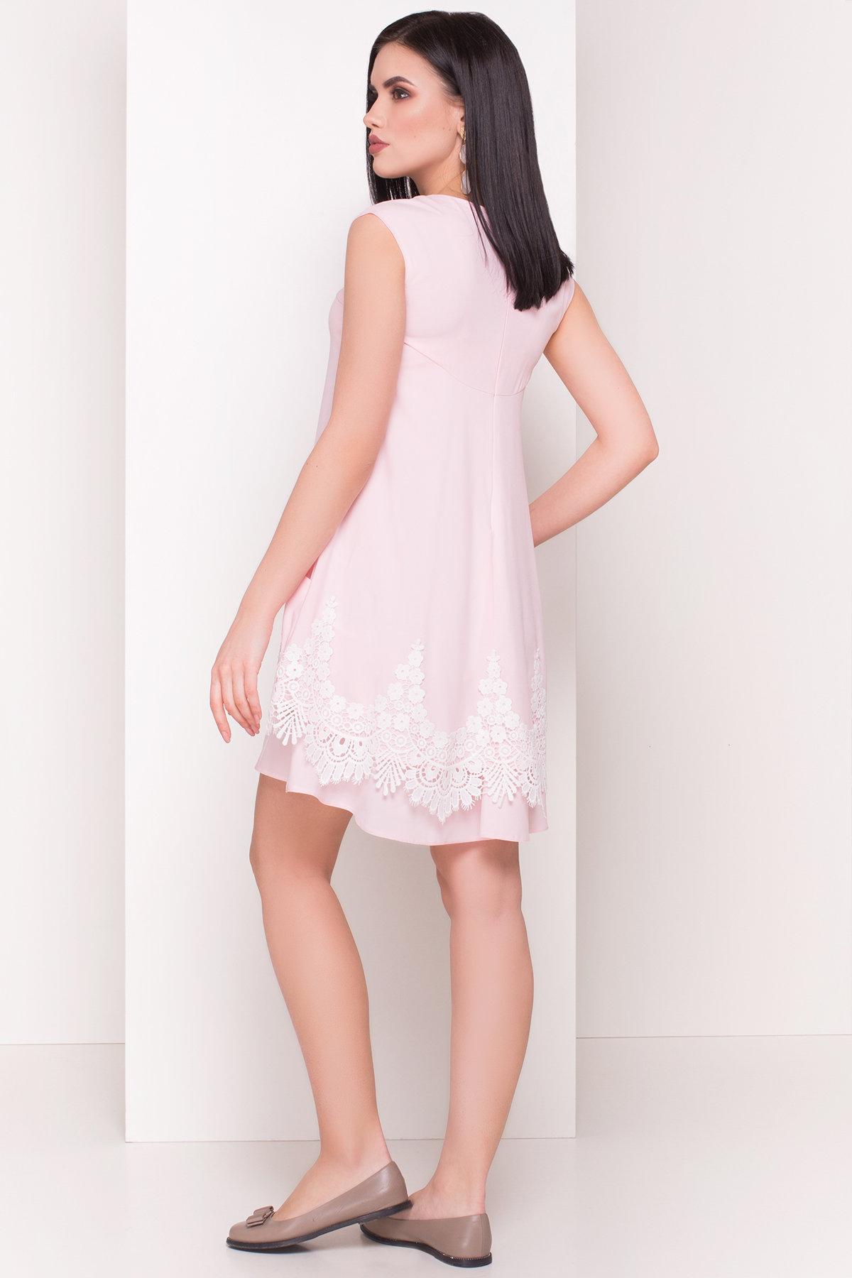 Платье Арвель 4894 АРТ. 34787 Цвет: Розовый - фото 3, интернет магазин tm-modus.ru