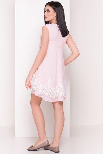 Платье Арвель 4894 Цвет: Розовый