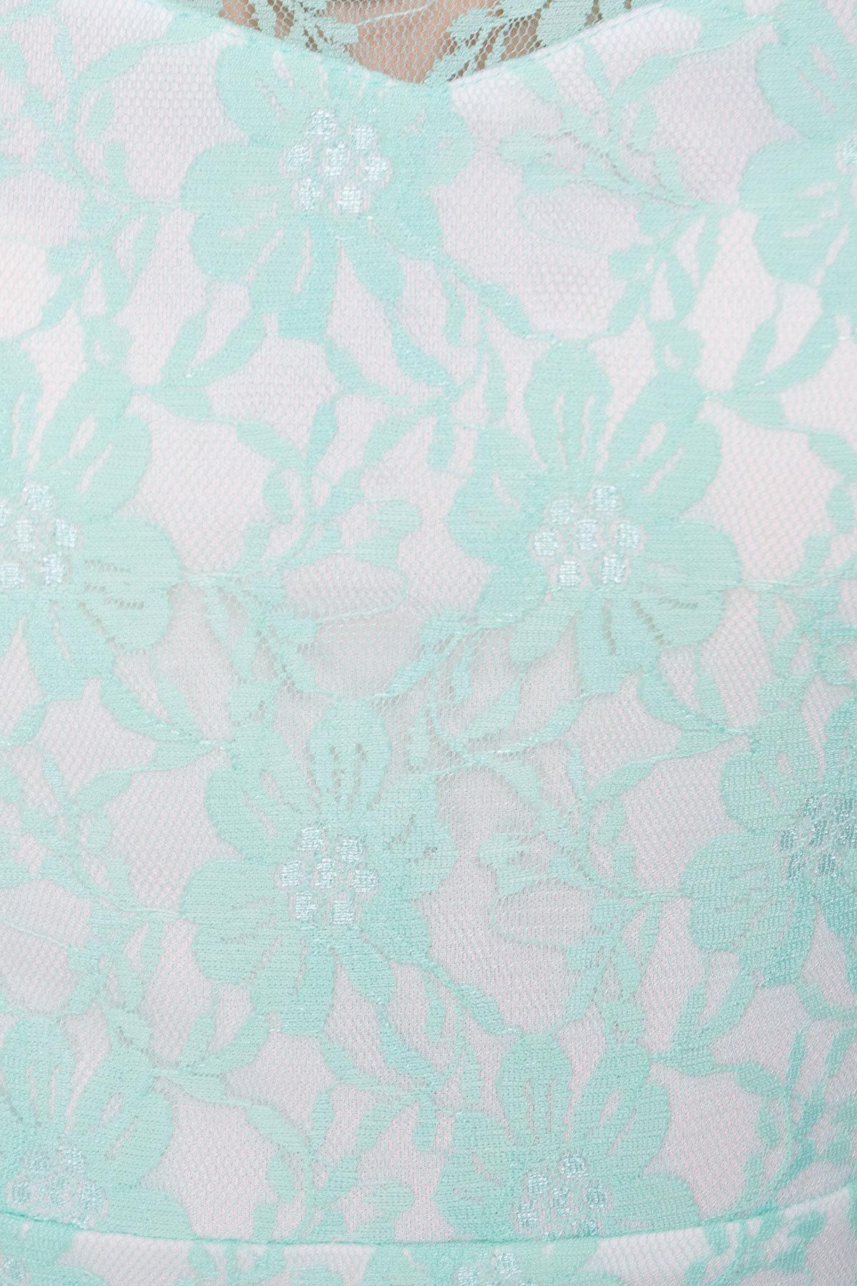 TW Платье Ермия 4989 Цвет: Мята
