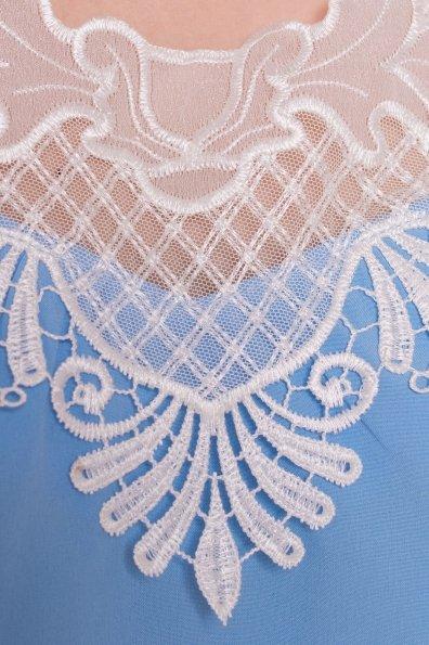 Платье Дели 4874 Цвет: Голубой