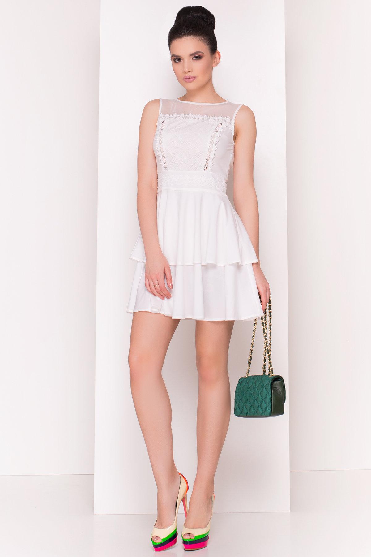 трикотажные платья оптом Платье Рина 4933