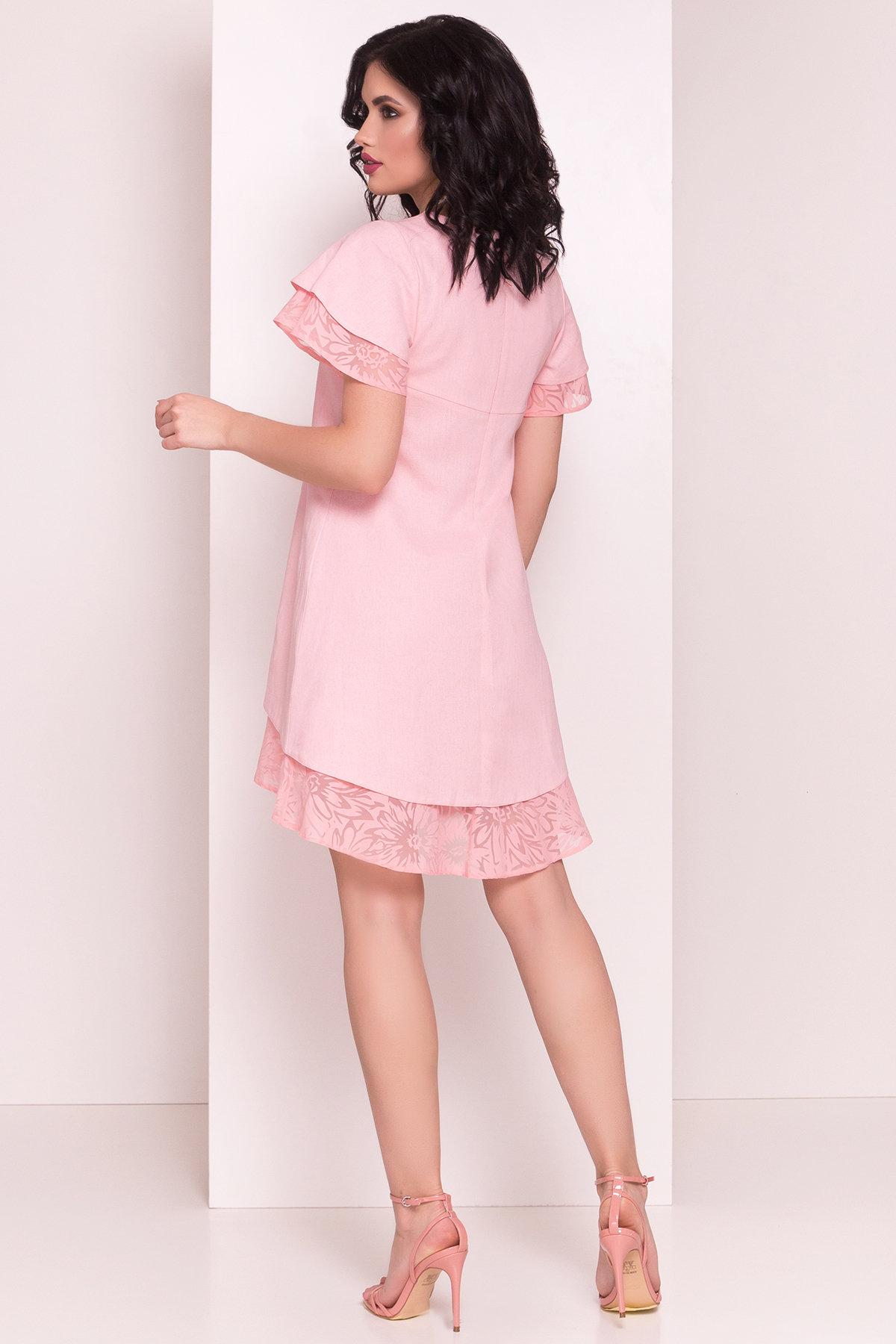 Платье Романтик 4986 Цвет: Персик