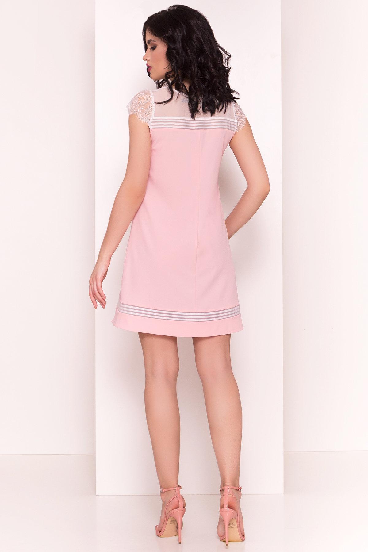 Платье Итана 4880 АРТ. 35091 Цвет: Розовый - фото 3, интернет магазин tm-modus.ru