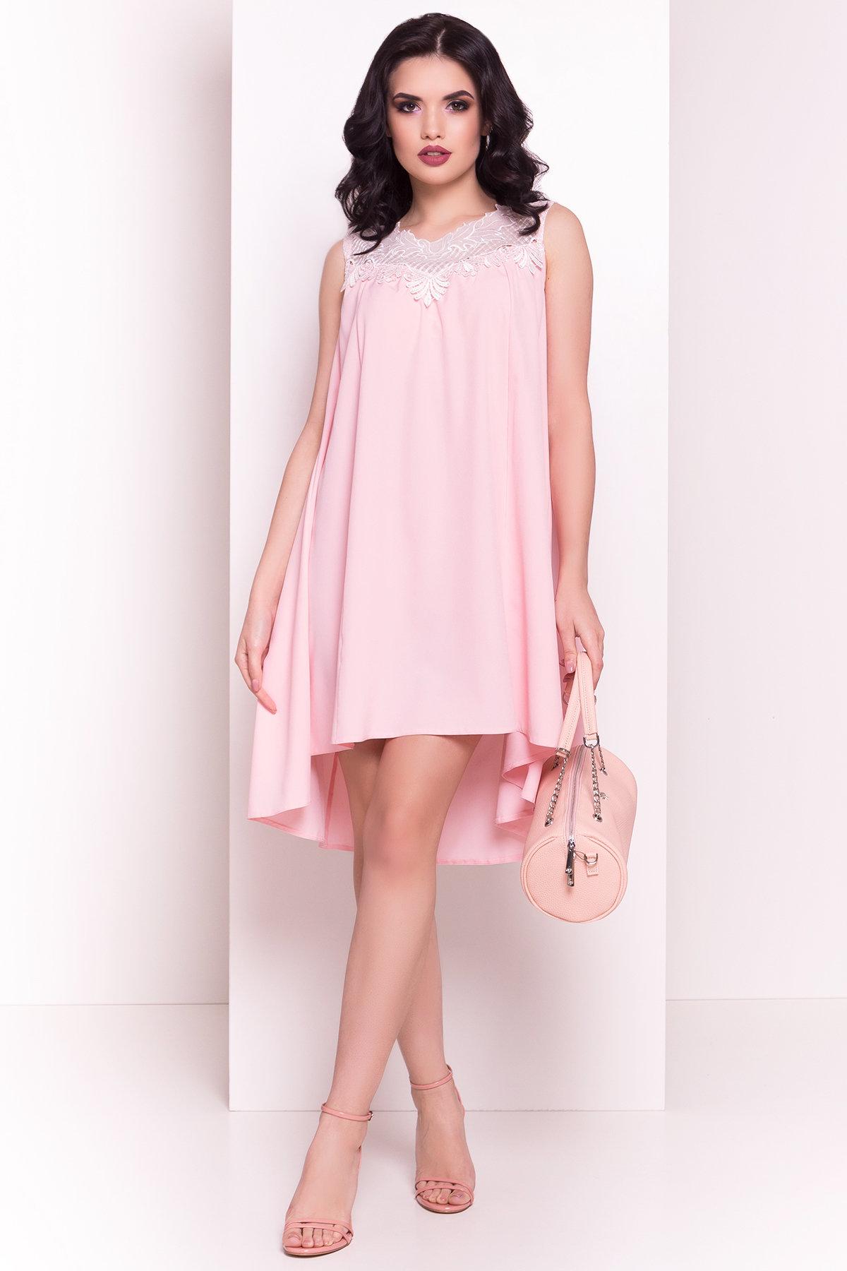 Платье Дели 4874 Цвет: Розовый