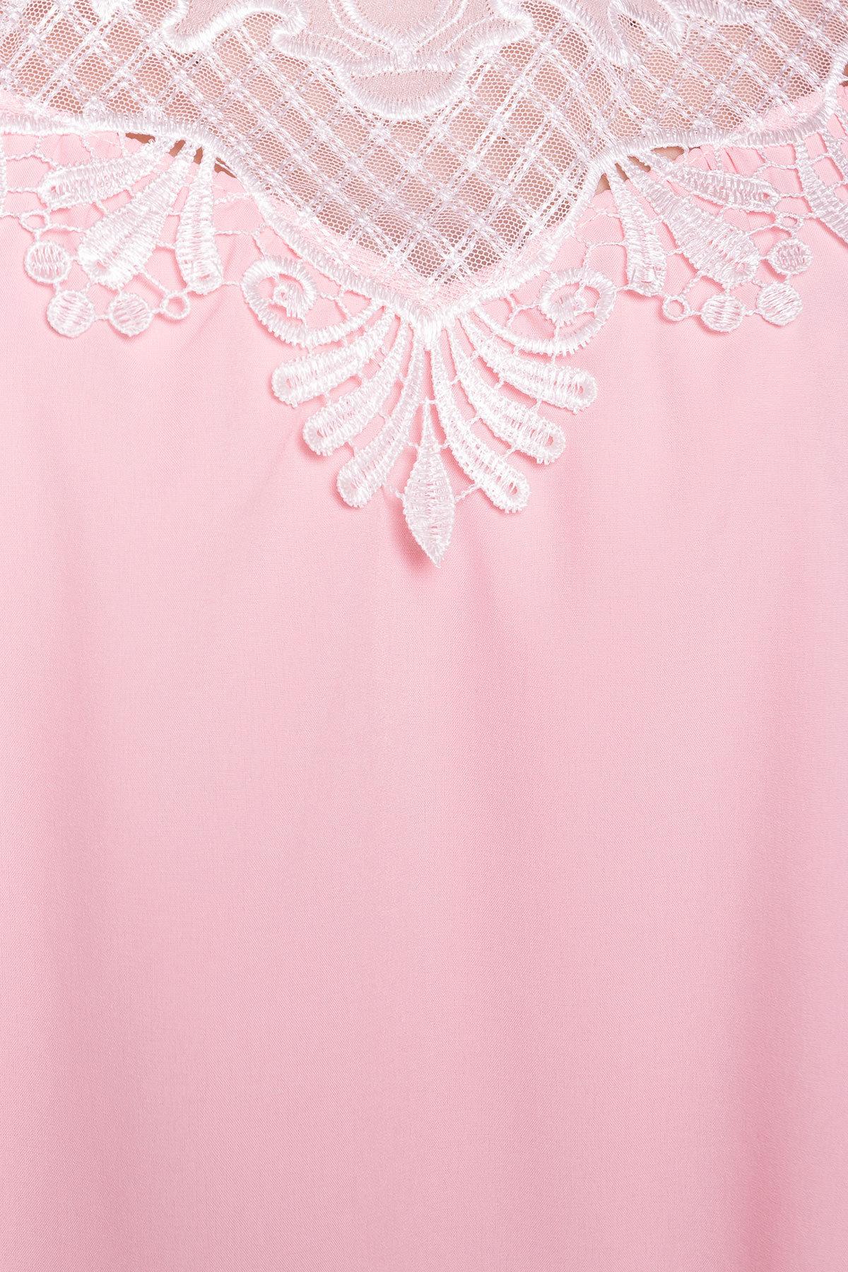 Платье Дели 4874 АРТ. 34782 Цвет: Розовый - фото 4, интернет магазин tm-modus.ru