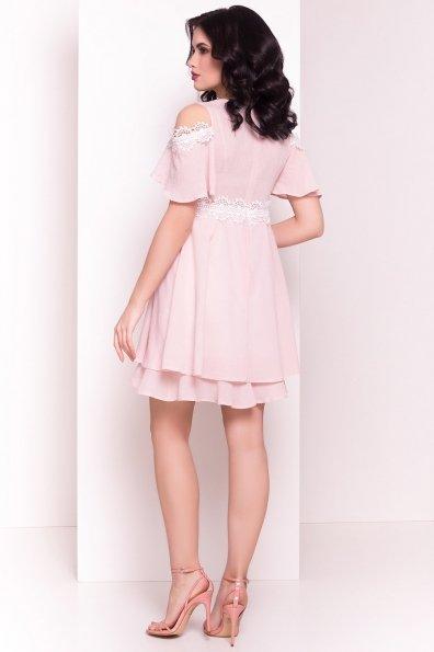 Платье Глафира 4980 Цвет: Пудра 1