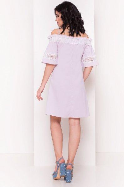 Платье Анис 4957 Цвет: Розовый/голубой