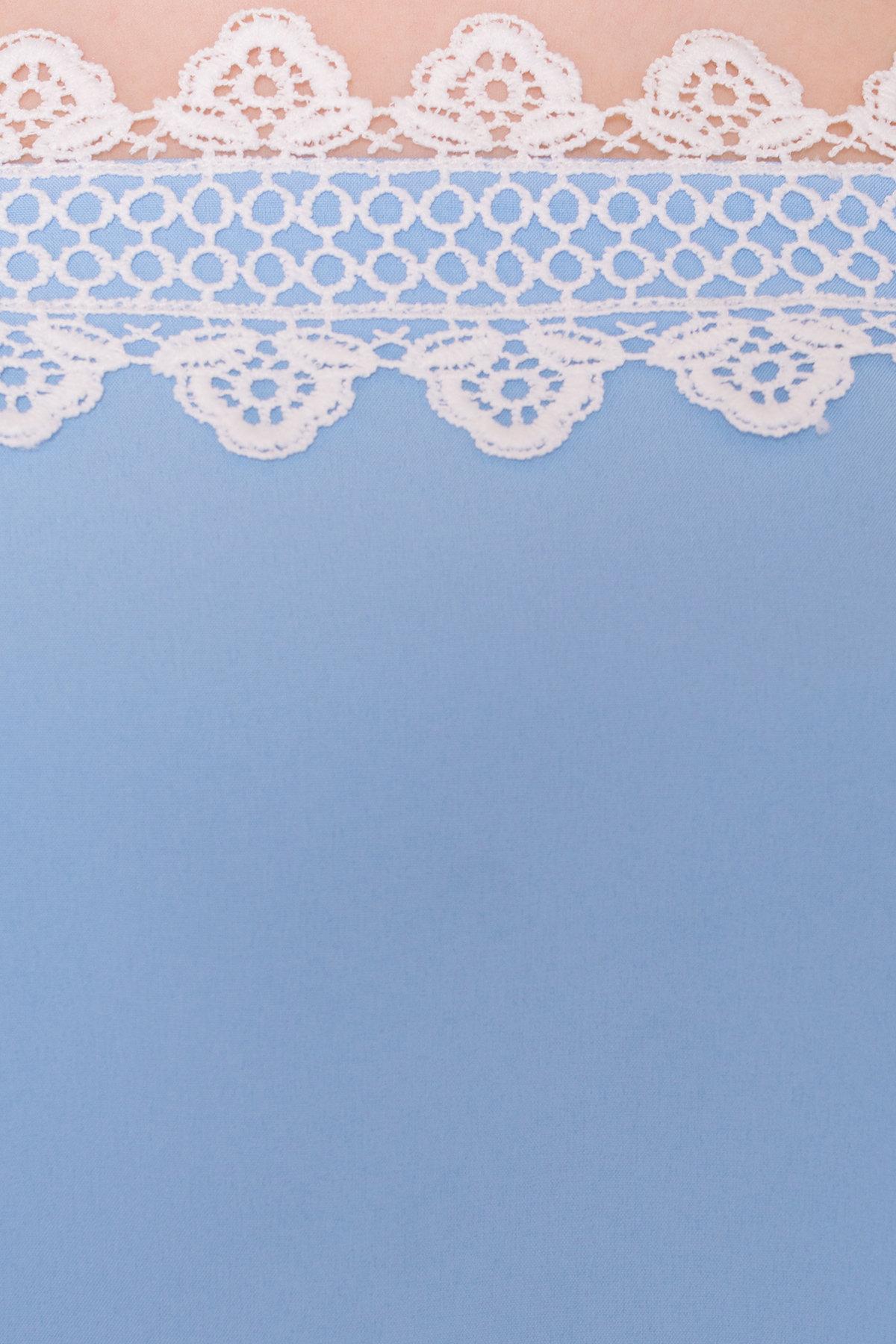 Платье Мальфа 5001 Цвет: Голубой