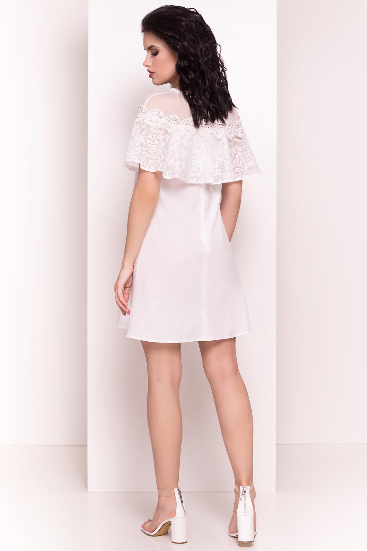 Платье Дени 4983 АРТ. 35386 Цвет: Молоко - фото 3, интернет магазин tm-modus.ru
