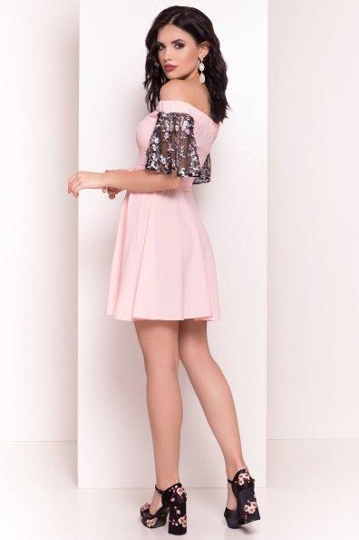 Платье Минхо 4958 Цвет: Пудра