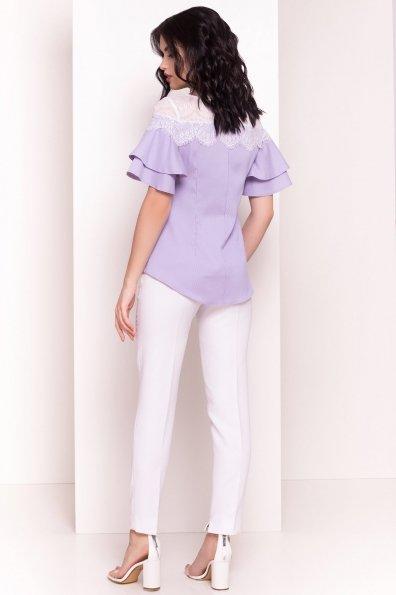 Блуза Ириска 4962 Цвет: Синий/розовый
