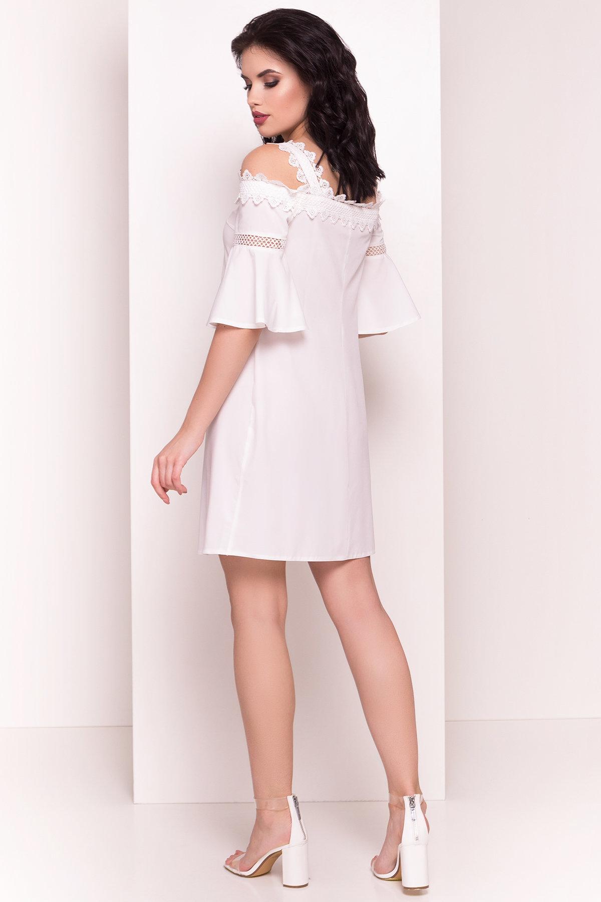 Платье Мальфа 5001 АРТ. 35424 Цвет: Молоко - фото 3, интернет магазин tm-modus.ru