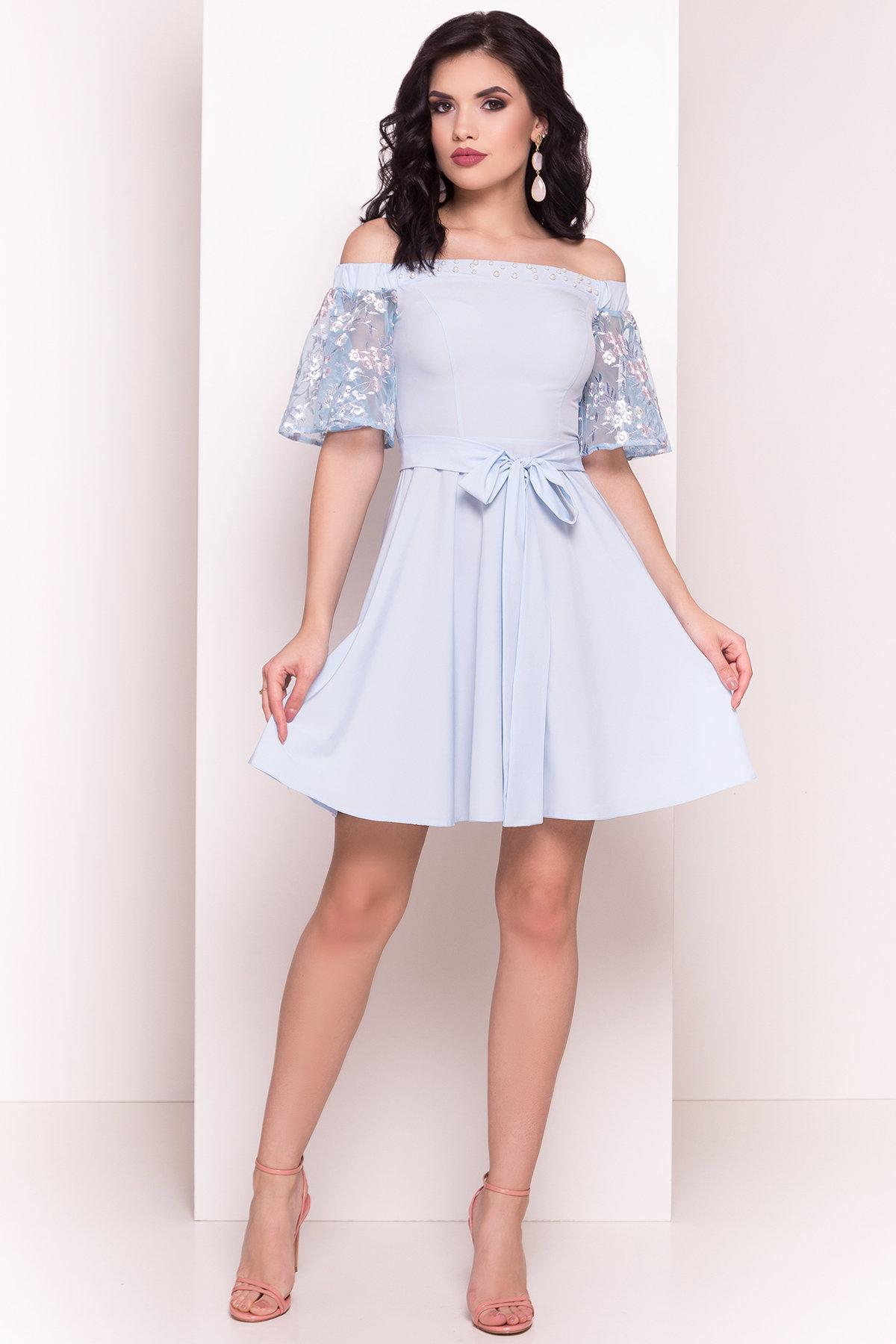 трикотажные платья оптом Платье Минхо 4958