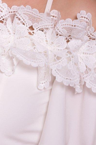 Длинное Платье Монриа 5094 Цвет: Молоко