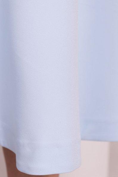 Юбка миди полусолнце Коста 5025 Цвет: Голубой