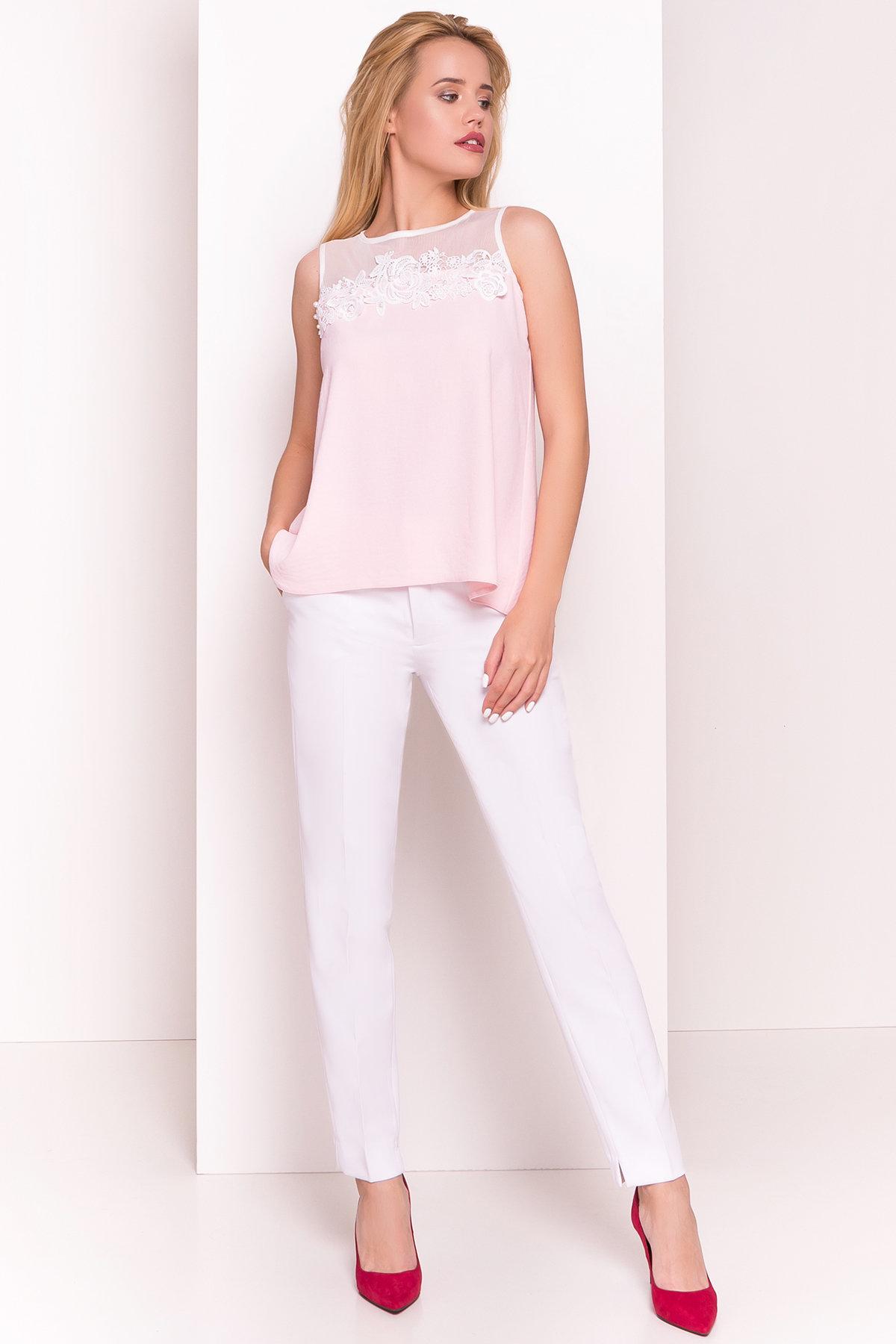 Оптовый магазин женских рубашек Modus Летняя блуза без рукавов Нелли 4918