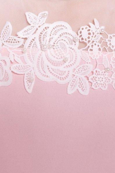 Летняя блуза без рукавов Нелли 4918 Цвет: Розовый Светлый