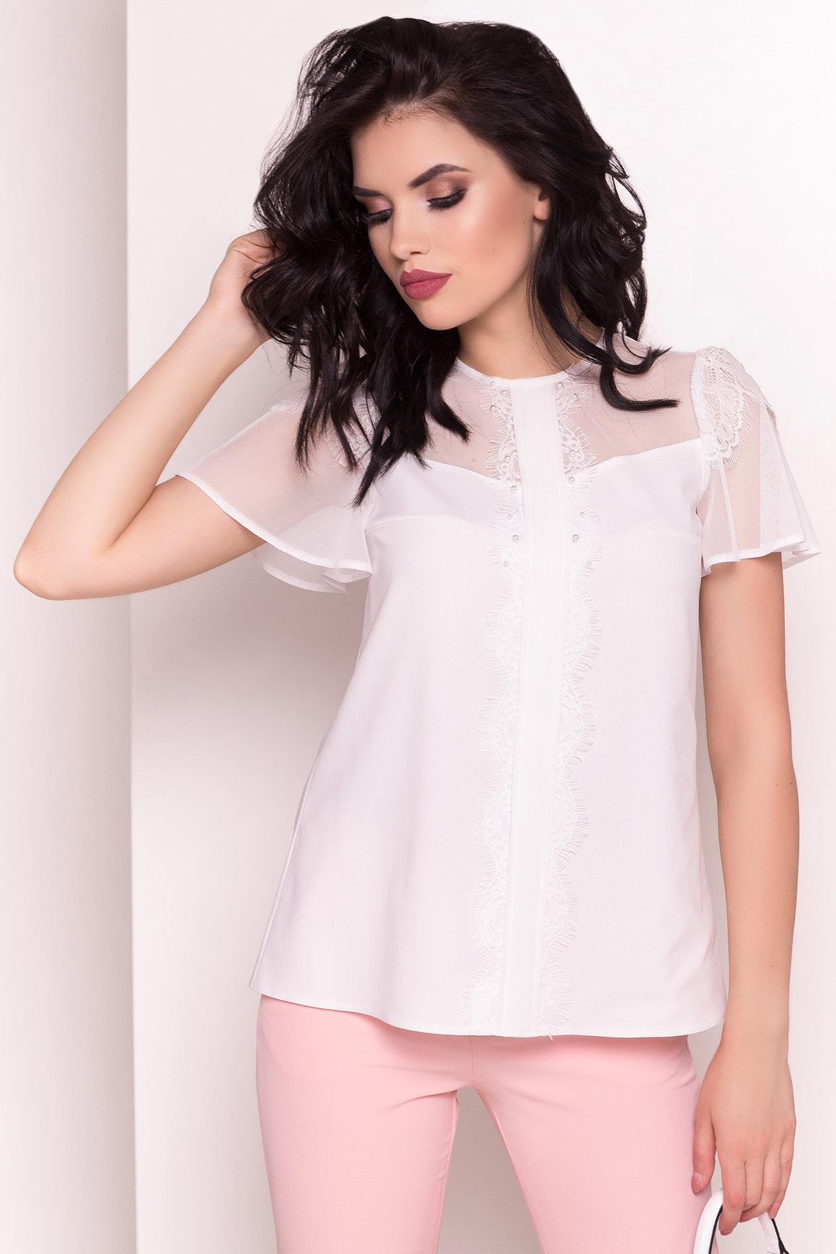 Женские рубашки оптом от производителя Блуза Миларо 5071