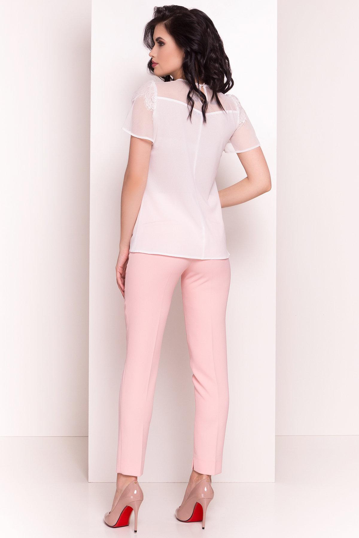 Блуза Миларо 5071 АРТ. 35580 Цвет: Молоко - фото 4, интернет магазин tm-modus.ru