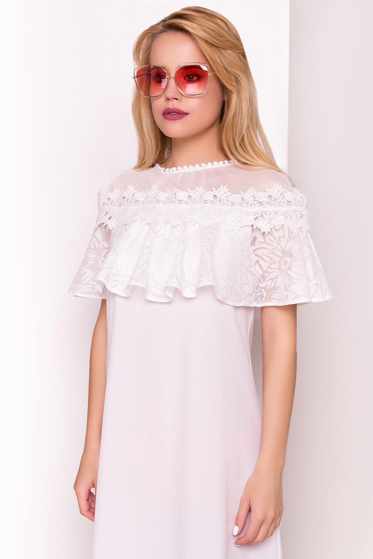 Платье Дени 4983 Цвет: Молоко 1