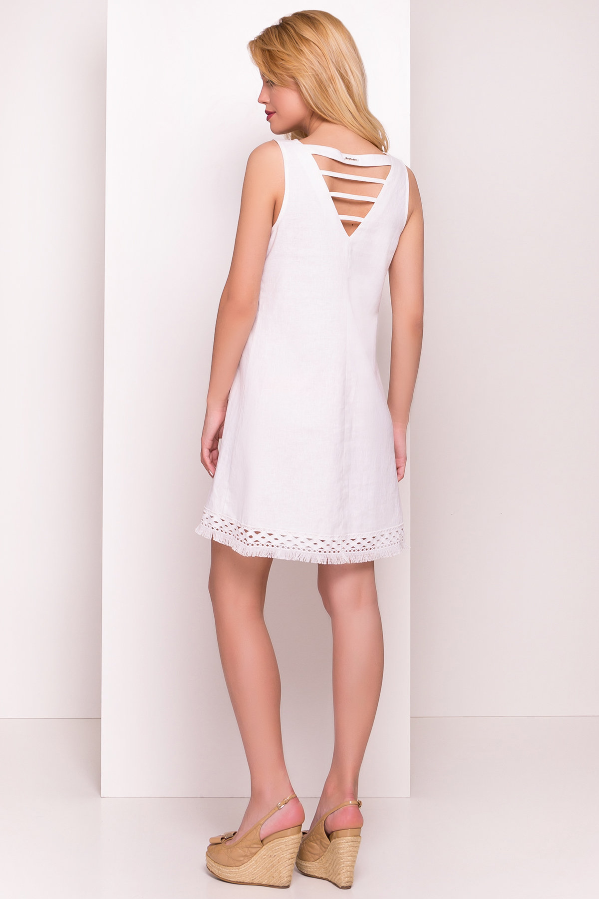 Платье Пейтон 5039 Цвет: Белый
