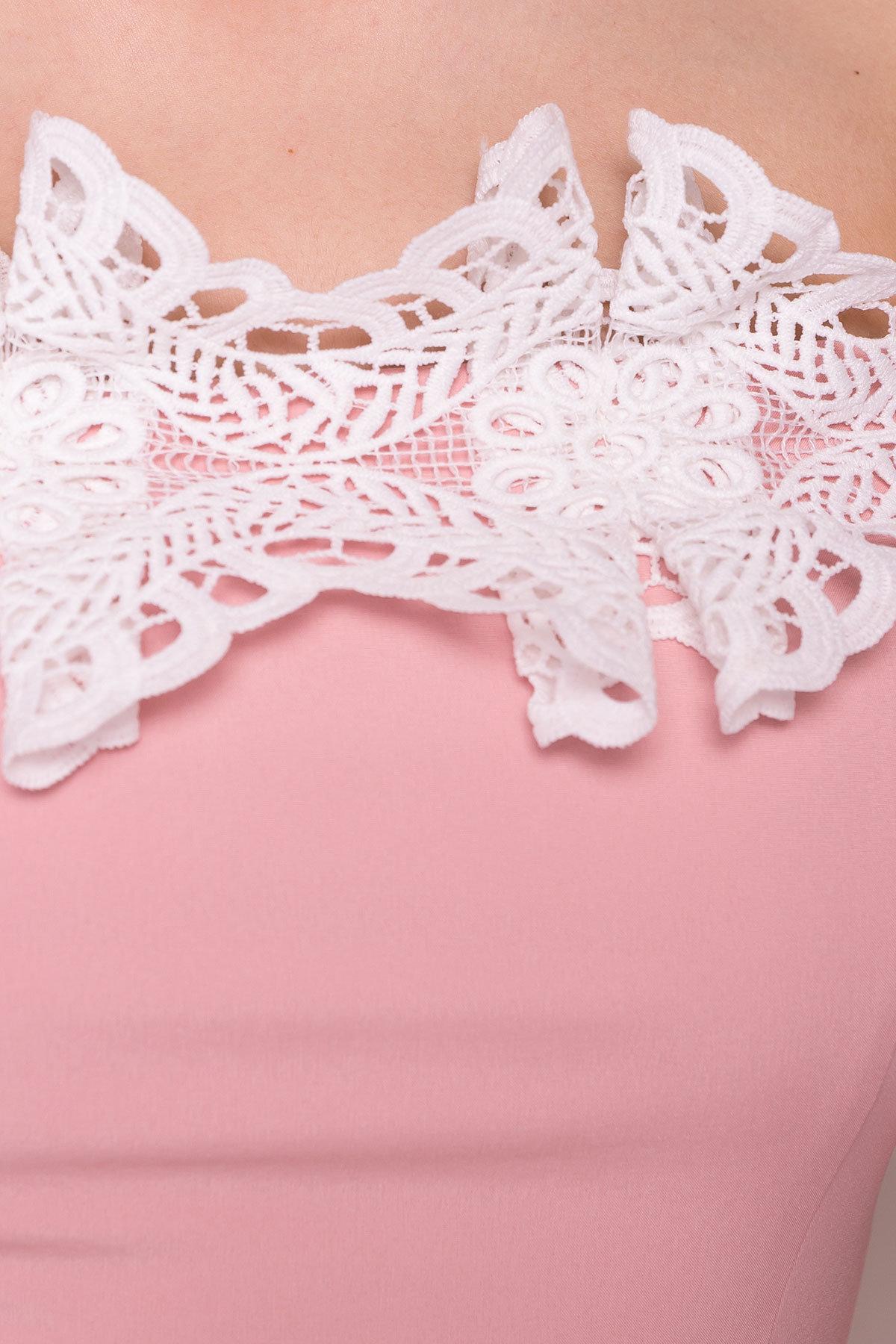 Длинное Платье Монриа 5094 АРТ. 35741 Цвет: Пудра - фото 4, интернет магазин tm-modus.ru