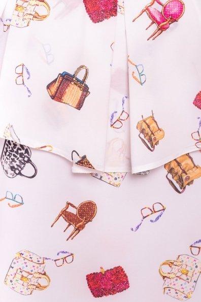 TW Платье Восток 5115 Цвет: Белый/Дамские аксессуары