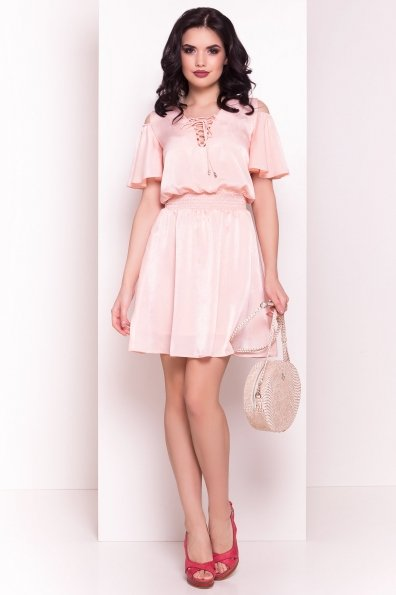 Платье Лолли 5073 Цвет: Пудра