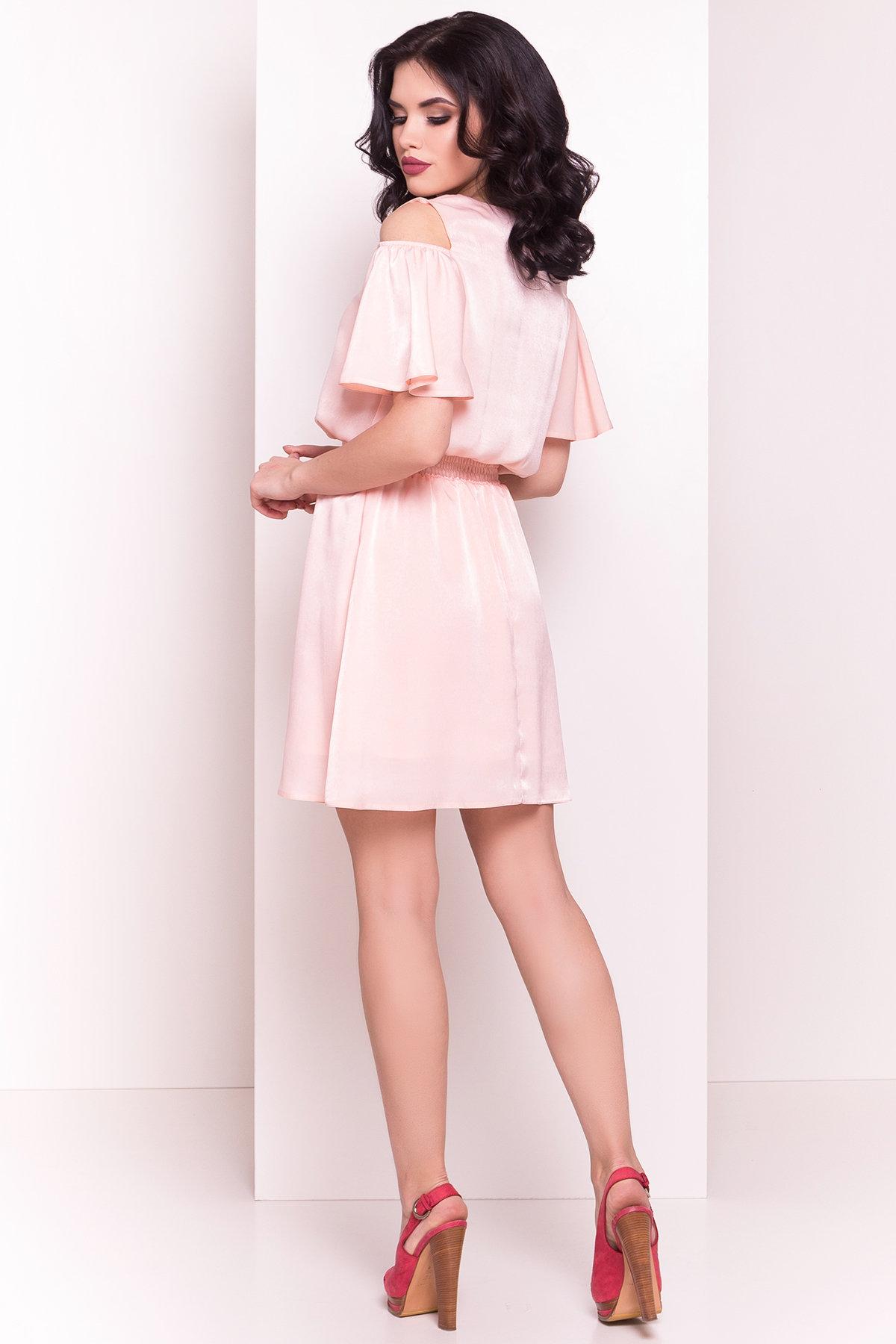 Платье Лолли 5073 АРТ. 35582 Цвет: Пудра - фото 3, интернет магазин tm-modus.ru