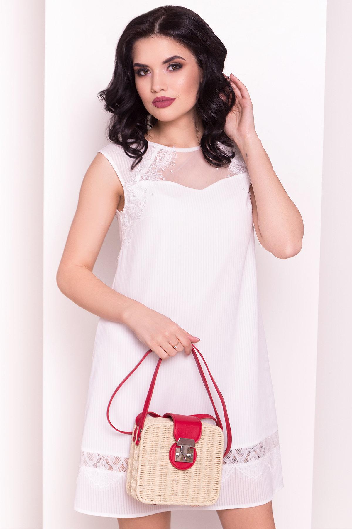 Платье Млада 5002 Цвет: Молоко