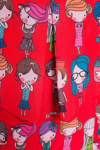 TW Платье Восток 5119 Цвет: Красный/Разноцветный молодежь