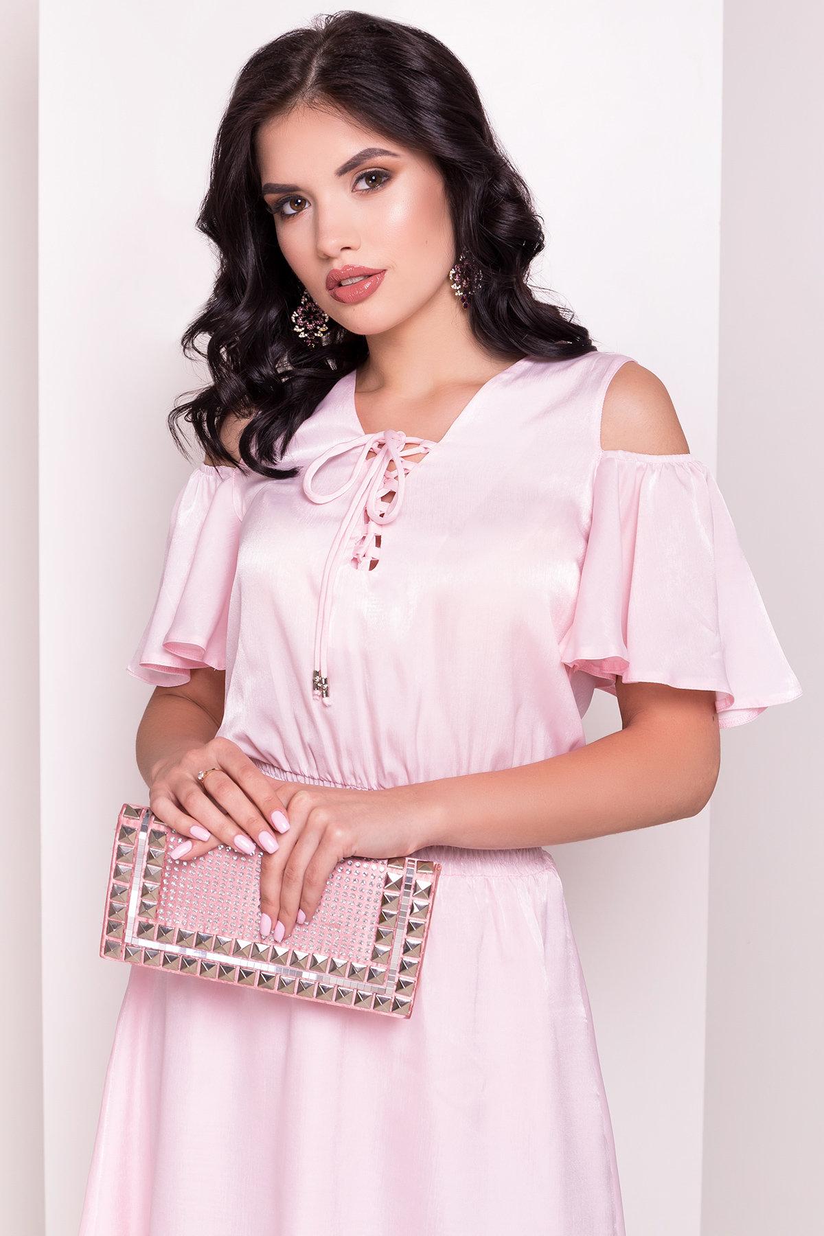 Платье Лолли 5073 АРТ. 35732 Цвет: Розовый - фото 2, интернет магазин tm-modus.ru